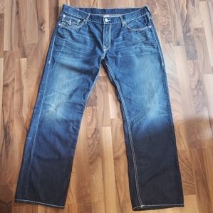 True Religion Ricky 5 Pocket Straight Leg Jeans